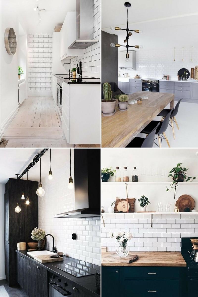 Carrelages métro - cuisines