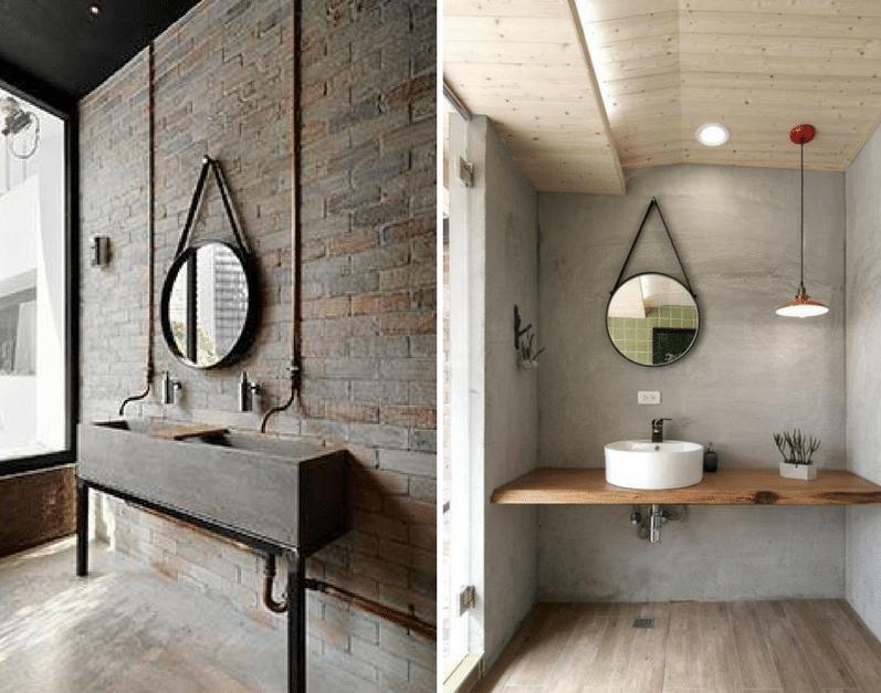 Miroirs suspendus