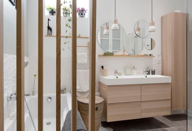 Salle de bain style scandinave Marion Lanoe