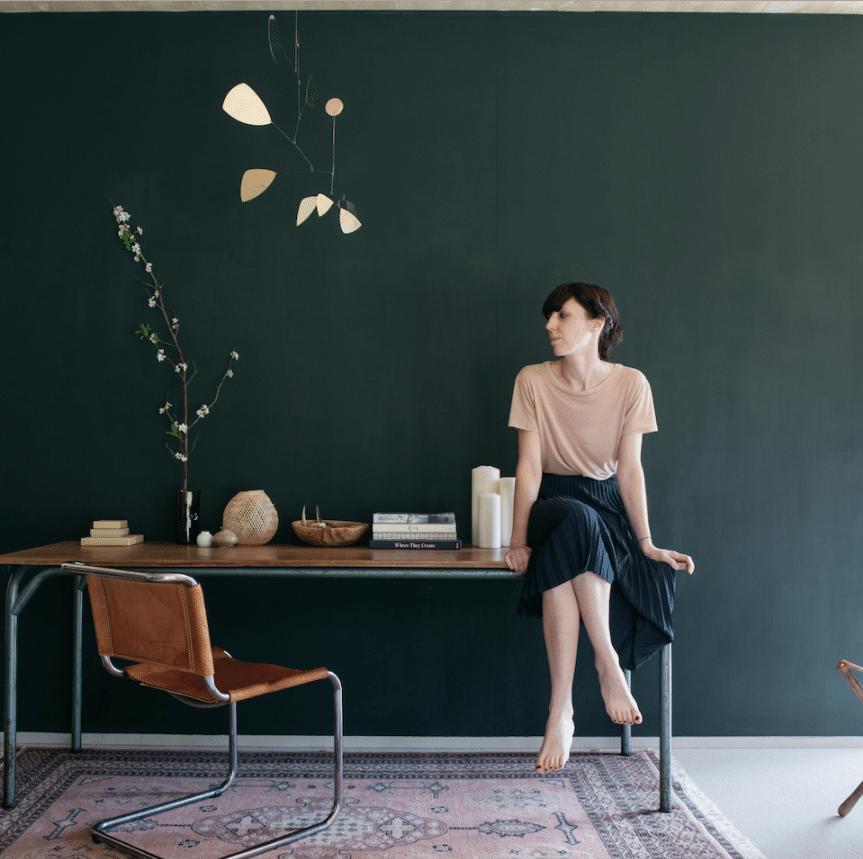 Chez Aurélie Lécuyer - Atelier Ordinaire - Bureau vintage
