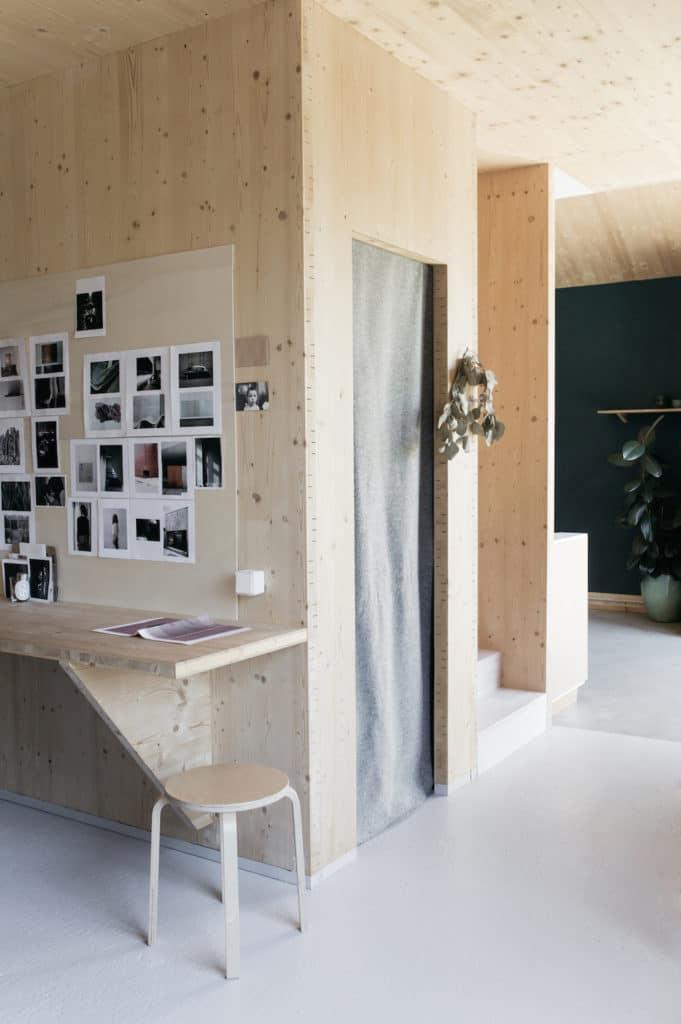 Chez Aurélie Lécuyer - Atelier Ordinaire - Bureau CLT