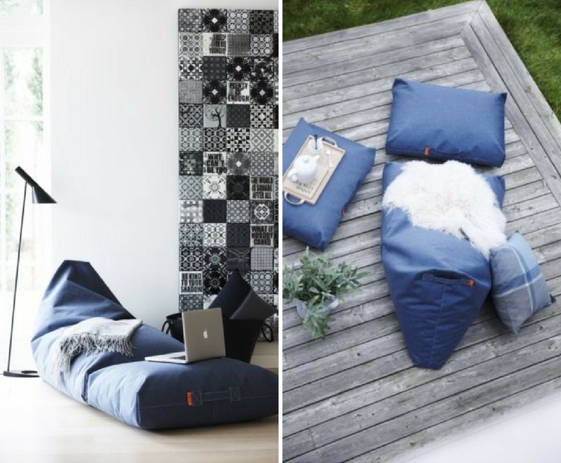 Felix Lounger Trimm Copengahen - pouf design
