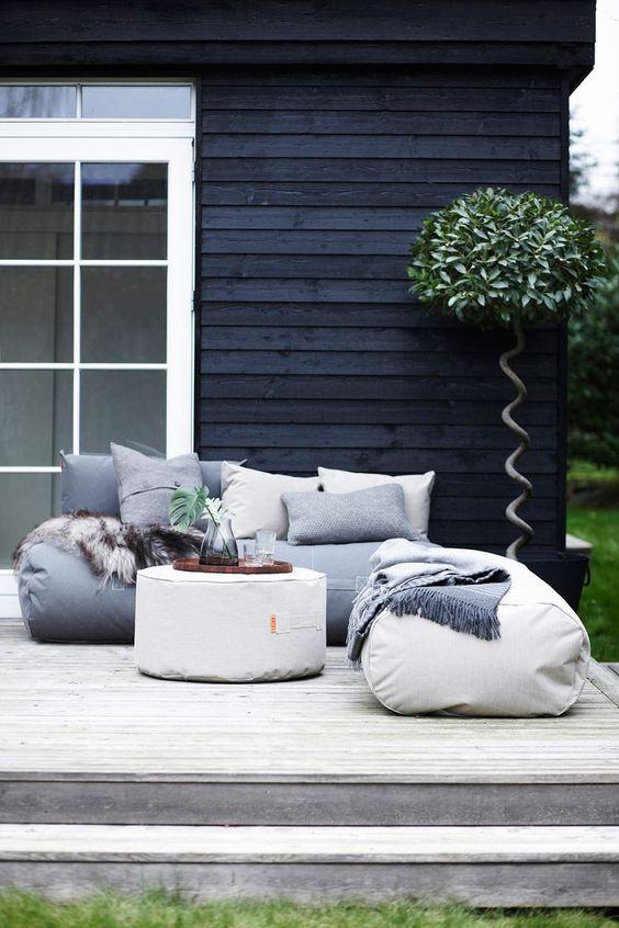 Chill outside - Trimm Copenhagen - pouf design