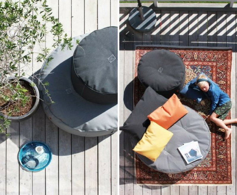 Full Moon Pouf Trimm Copenhagen - pouf design