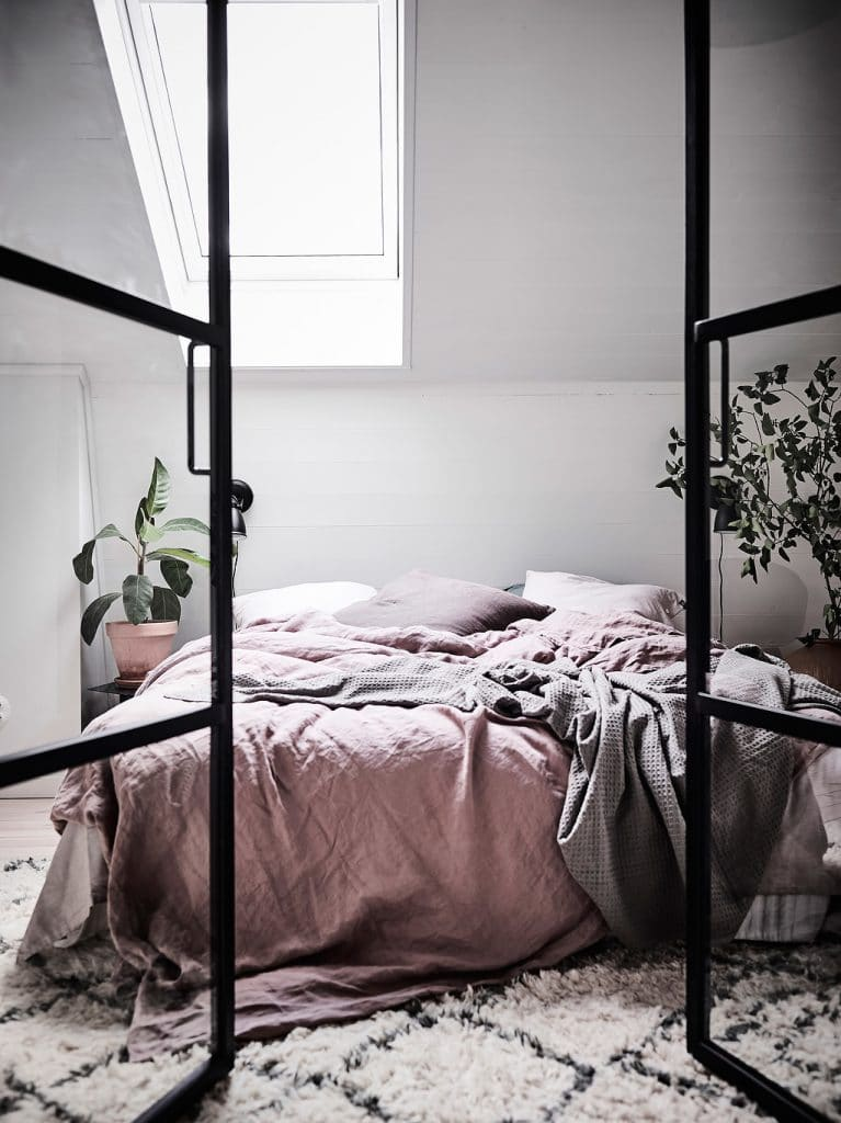Hygge bedroom - pink