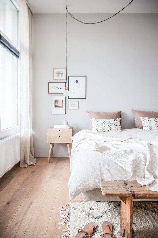 Chambre à coucher hygge minimaliste 2