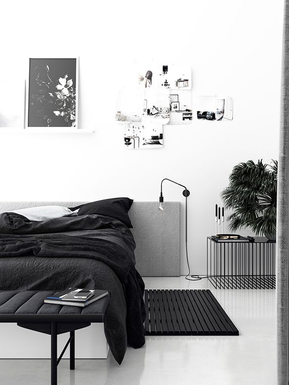 Chambre à coucher hygge minimaliste 3 - Blackhaus photo
