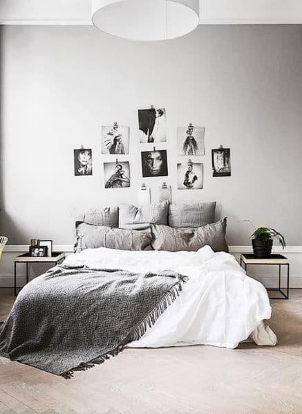 Chambre à coucher hygge minimaliste 4