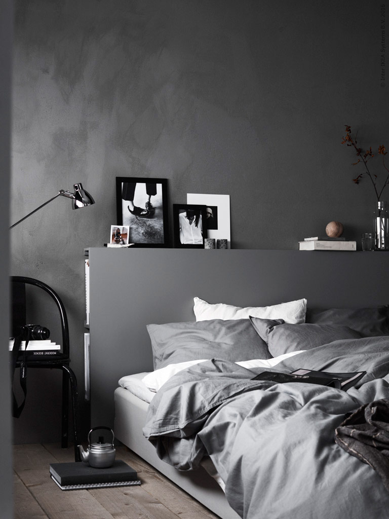Grey Hygge bedroom