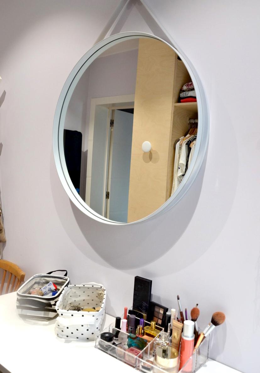 déco d'intérieur - miroir strap HAY