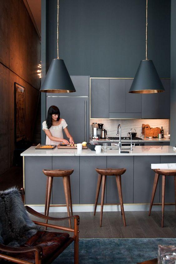 Less is More Interieur - cuisine noire 2