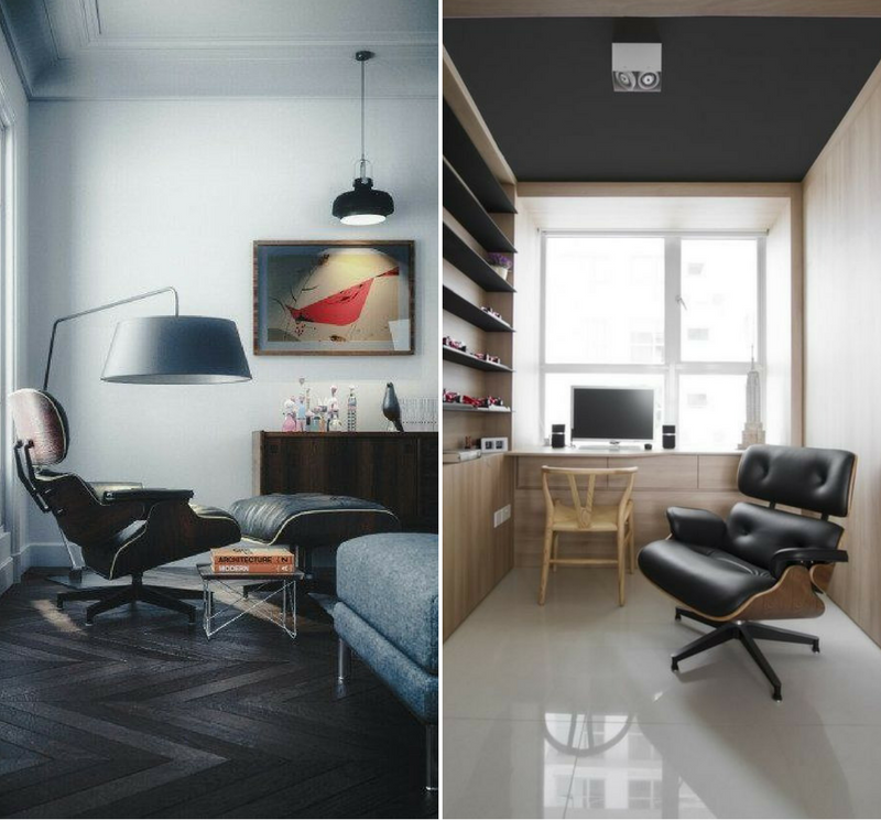 Less is More Interieur - Vitra Lounge Chair