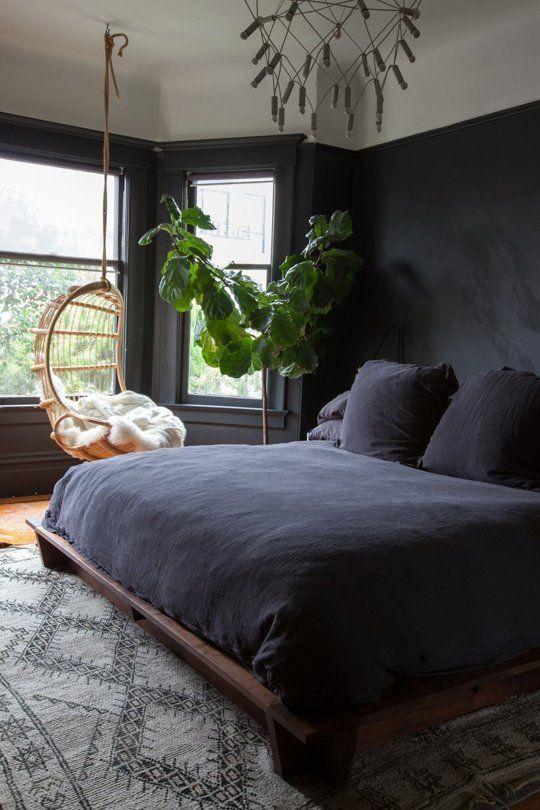 lessismore-interieur-black-boho-bedroom