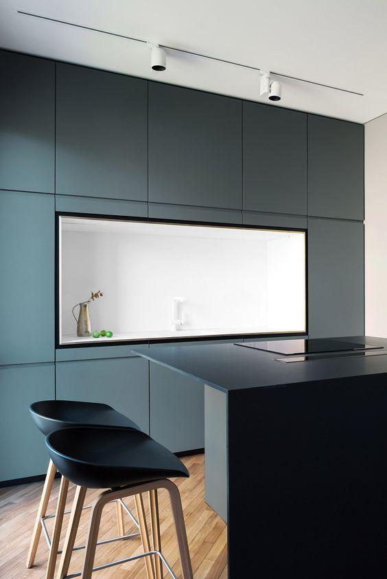 LM Interieur - Emerald kitchen
