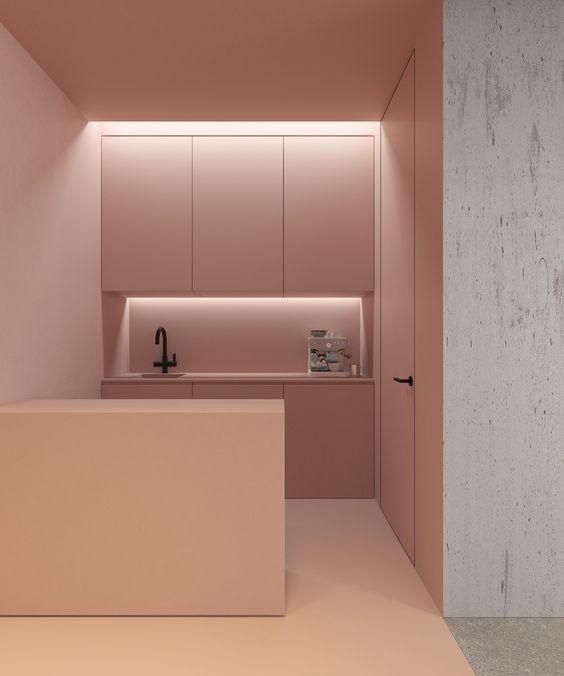 LM Interieur - Pink Kitchen
