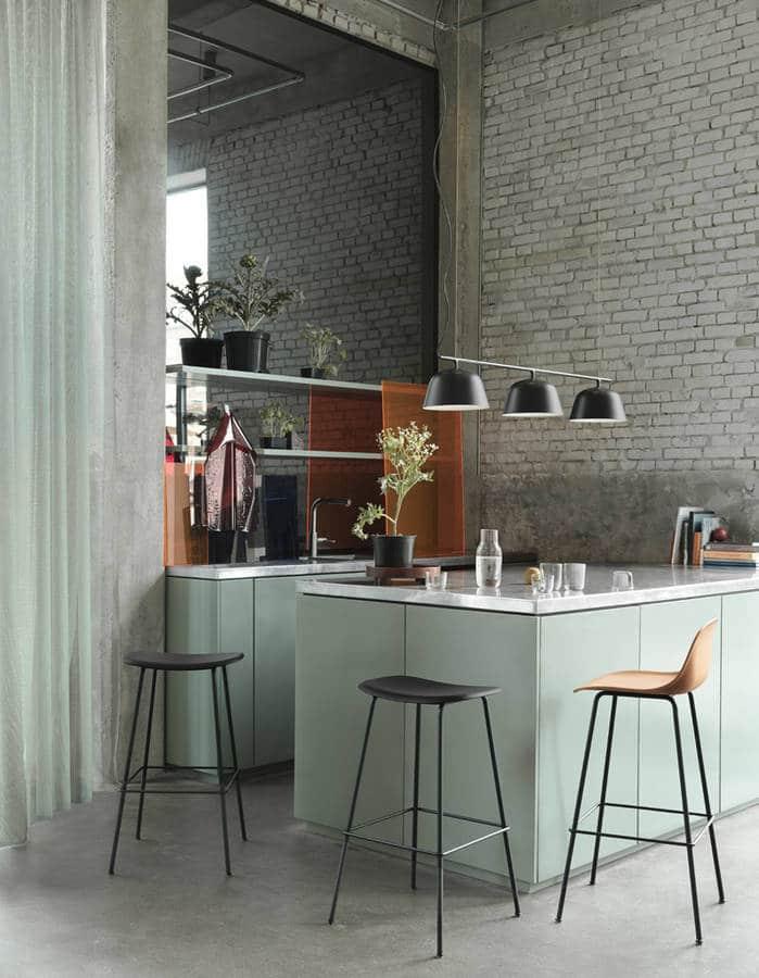 LM Interieur - muuto cuisine menthe