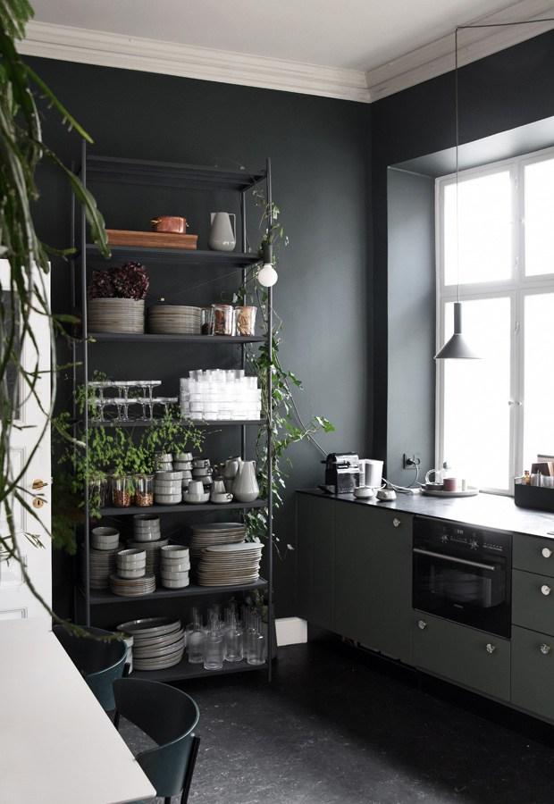 Ferm Living - cuisine vert foncé