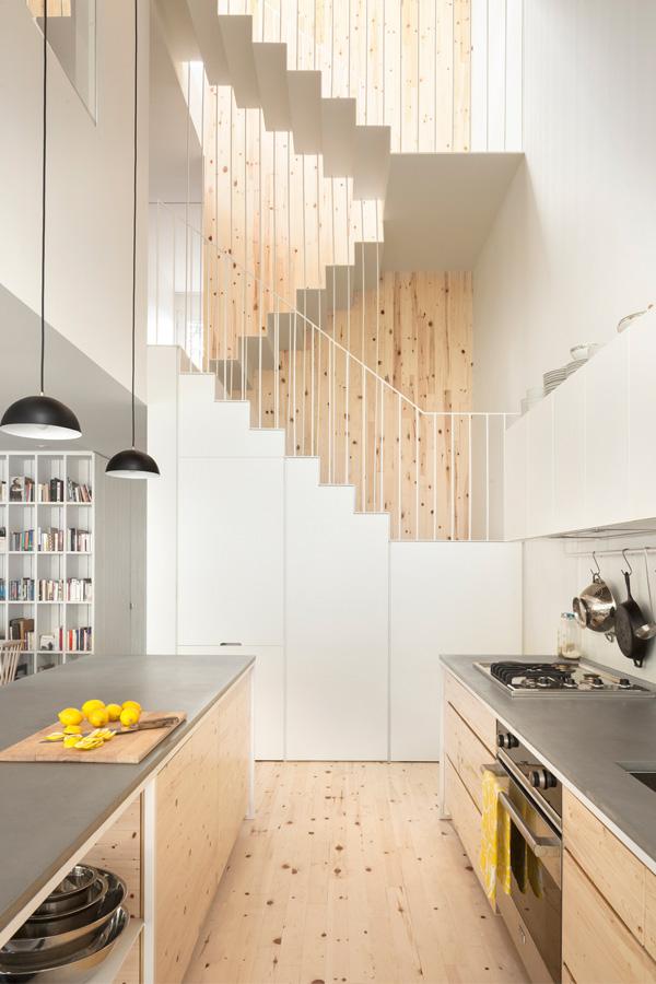 La Shed - Maison Clark - Escalier