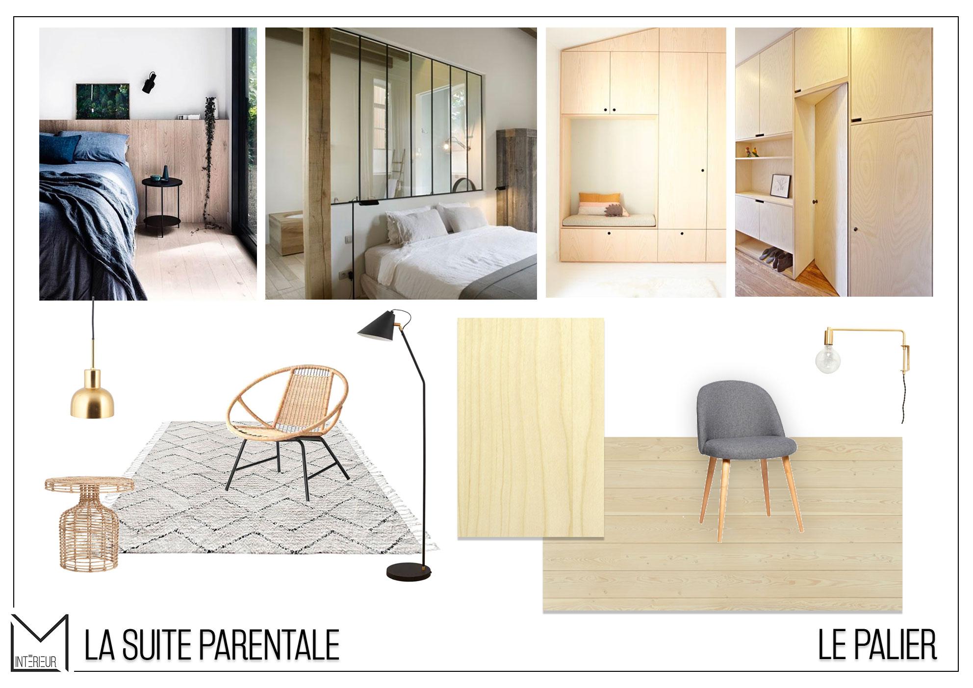 Projet S&G – Moodboard étage