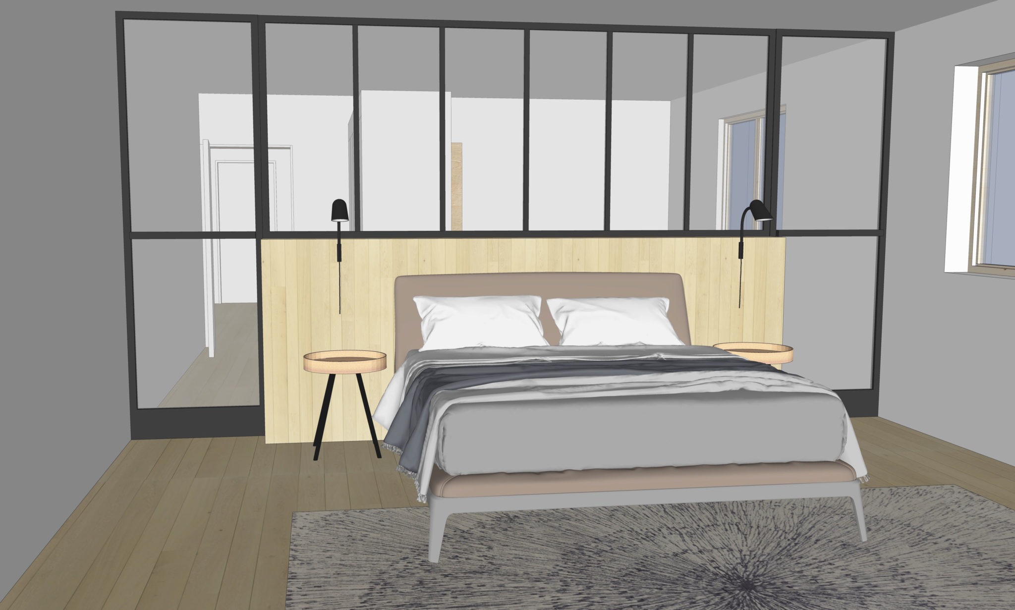 Projet S&G – Croquis chambre