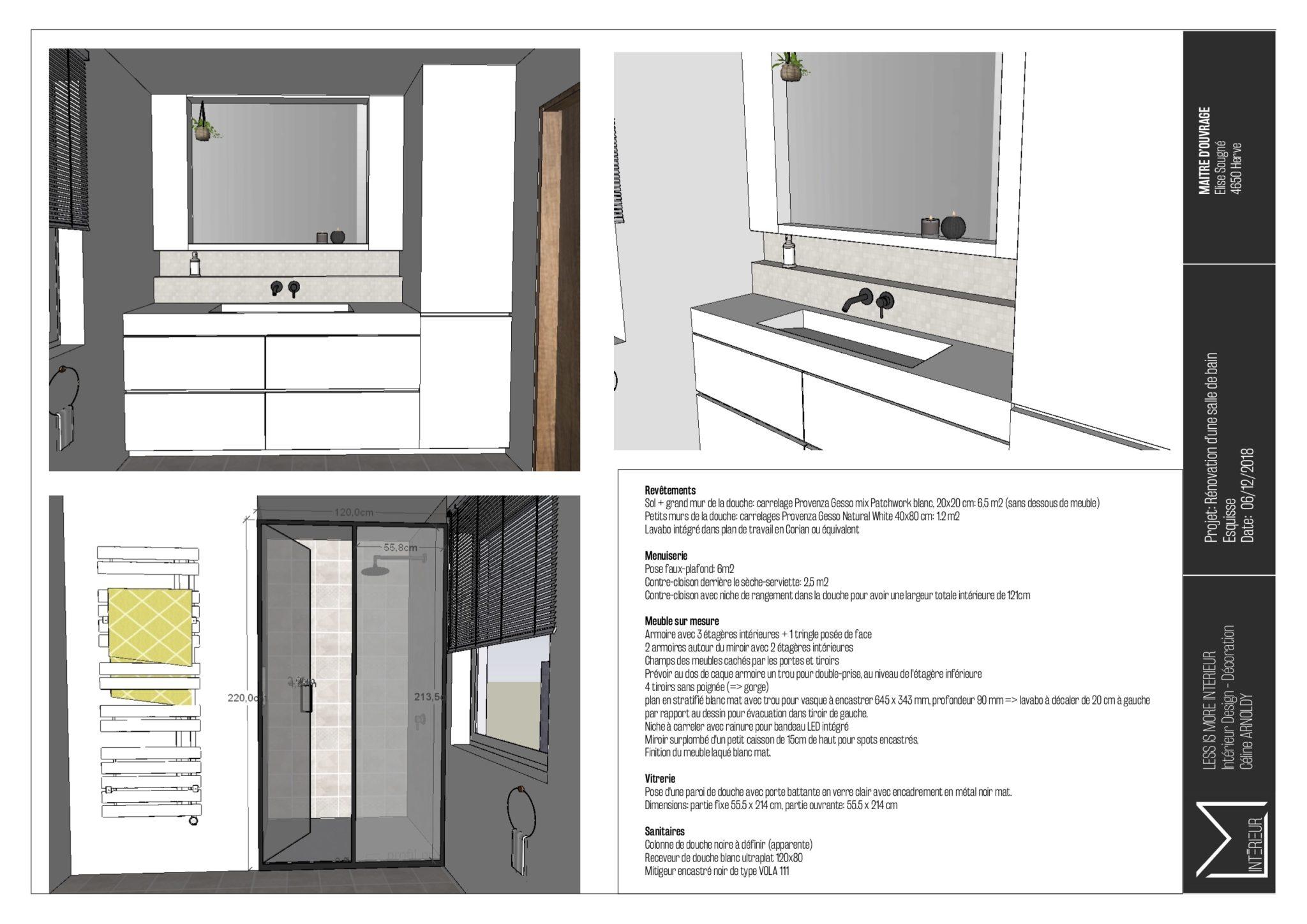 ARHA Studio - Projet Chaineux
