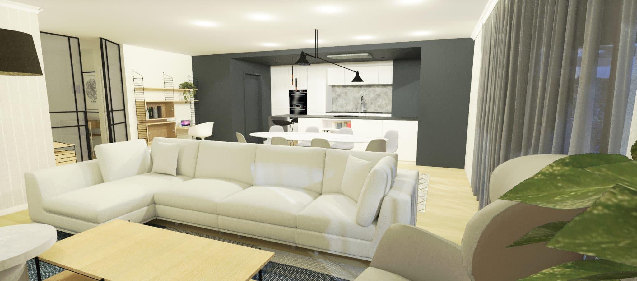 Projet Rogier - Rendu salon