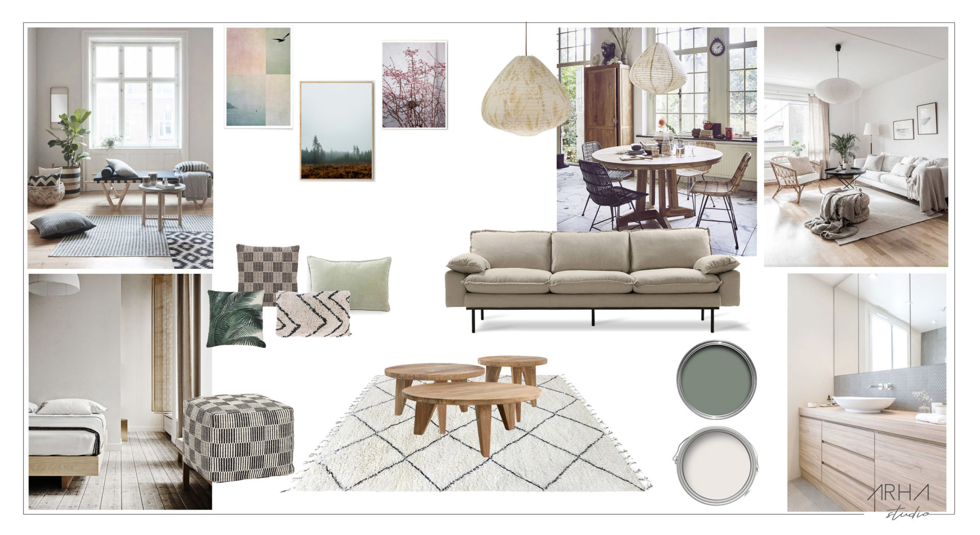 Willem – moodboard déco