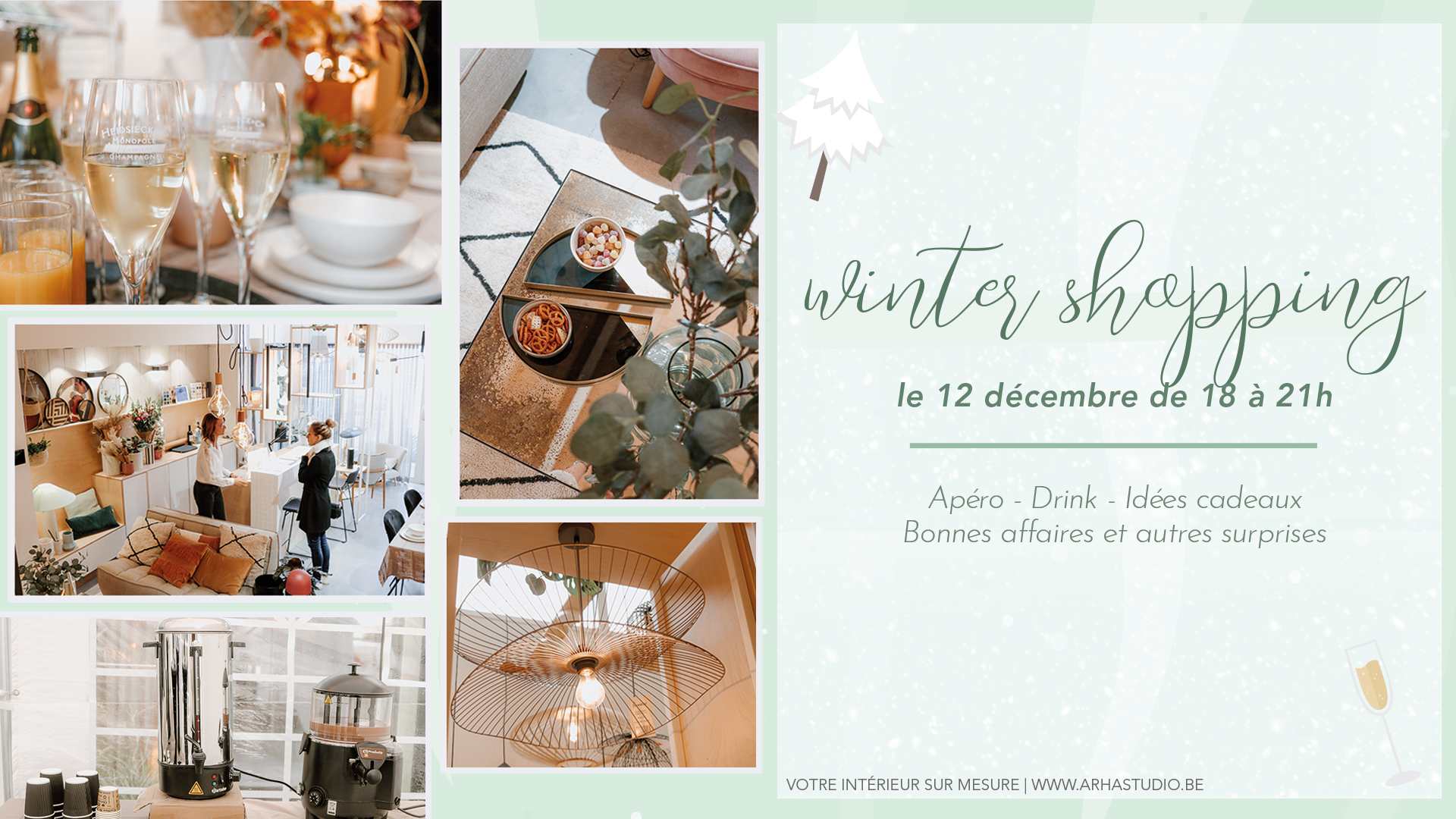 Event Winter Shopping Night ARHA Studio