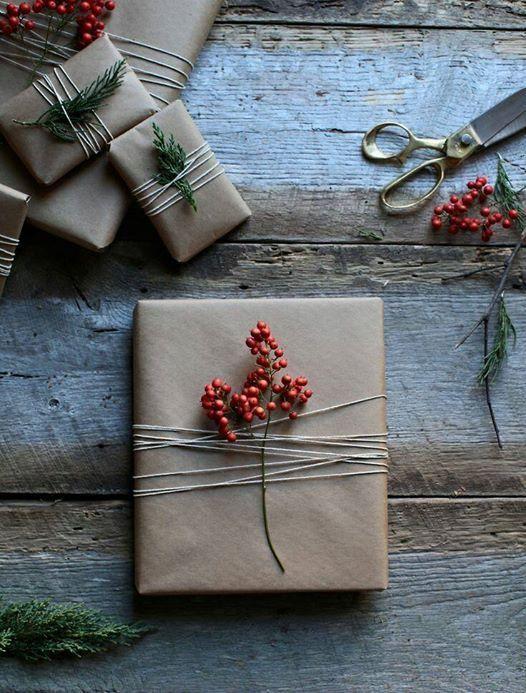 astuces fêtes simples idée emballage noel