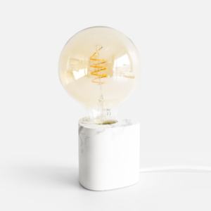 Houseraccoon-lampe-walter-marbre-blanc