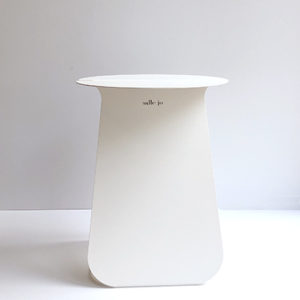 Table d'appoint Youmy blanche