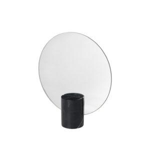 Miroir de table en marbre noir