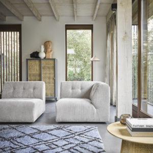 HK Living Tapis berber bleu