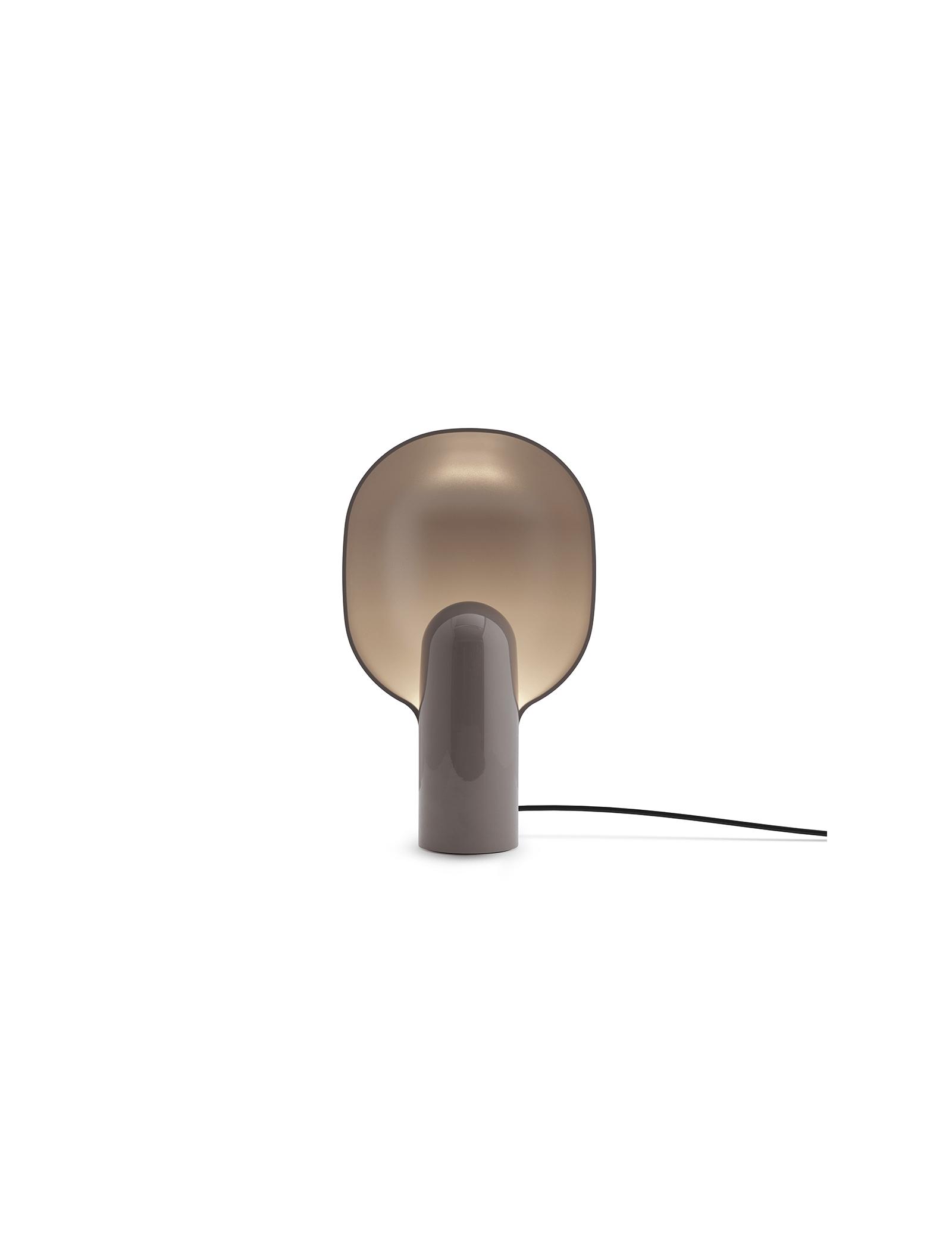 Ware Table Lamp, Mole Grey