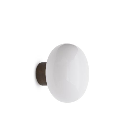 Karl-Johan Wall Lamp, Opal Glass-White Background