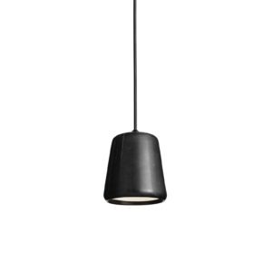 Material Pendant Black Marble White Background