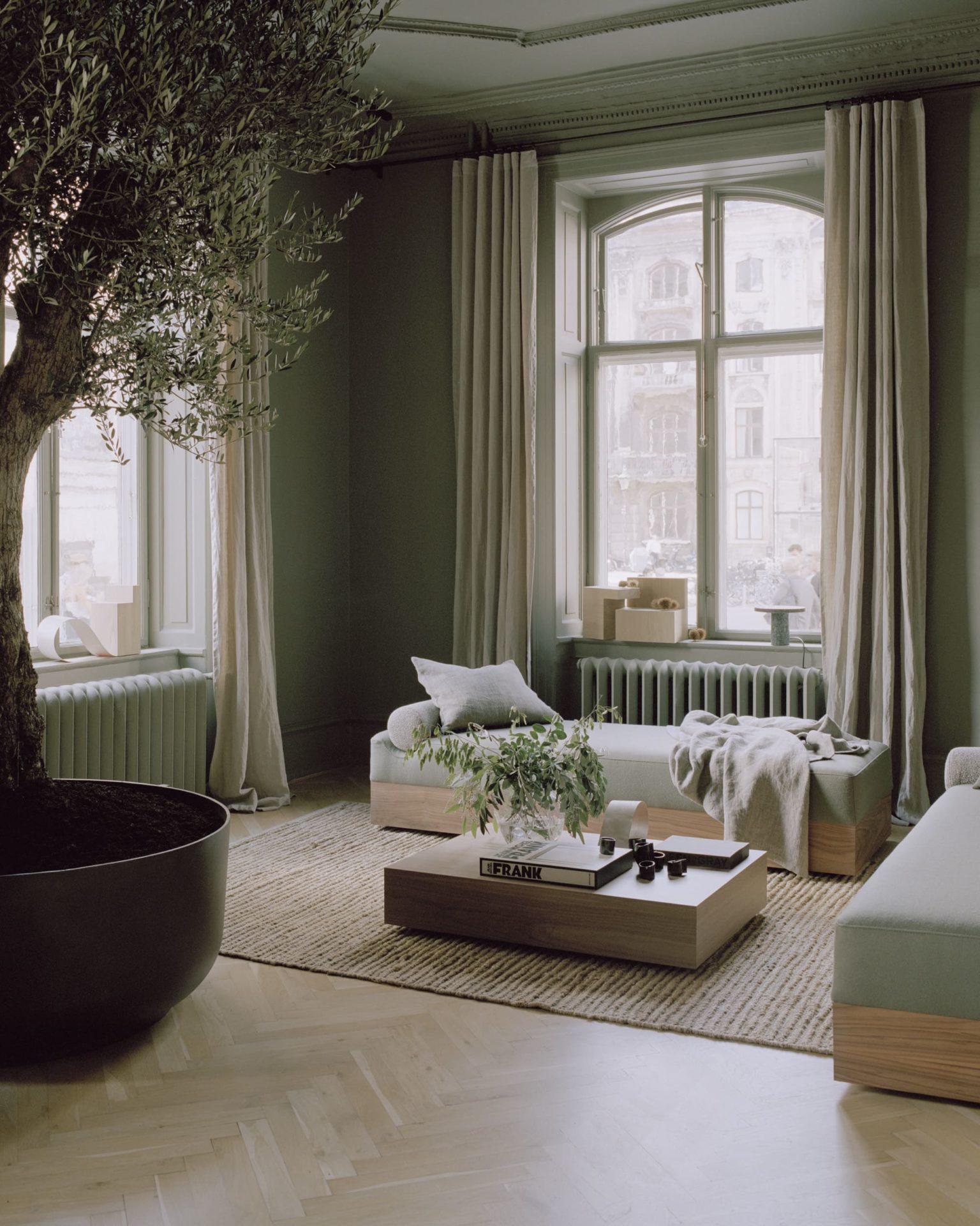 deco-mur-kaki-petit-salon-ambiance-chill