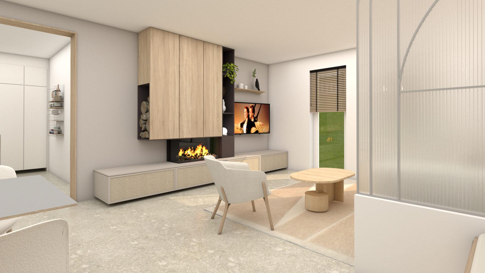 Maison Aubel - renu meuble TV insert